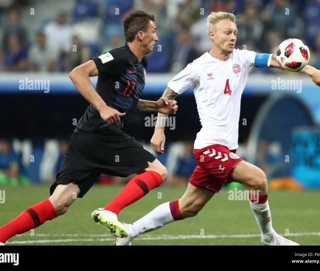 Nizhny Novgorod Russia July   Croatias Mario Mandzukic