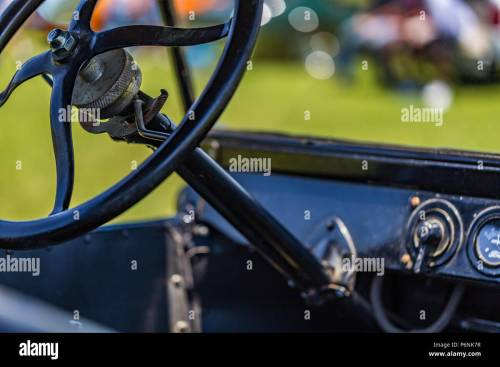 small resolution of wiring up model t shallow depth of field closeup of the steering wheel mechanism on ashallow depth of field closeup