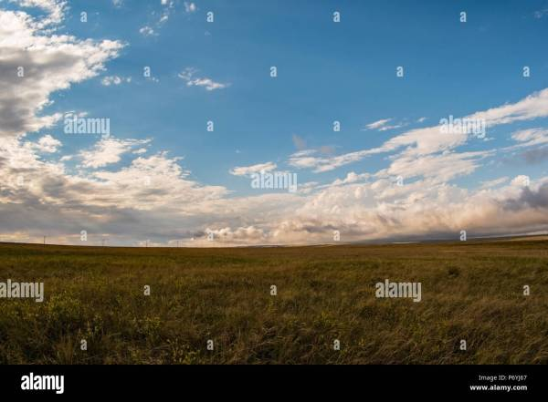 Great Plains America Landscape Stock & - Alamy