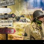 Diorama With American Wwii Soldier In The Overlord Museum Near Omaha Beach About Ww2 Allied Landing During D Day Colleville Sur Mer Normandy France Stock Photo Alamy