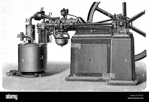 small resolution of internal combustion engine by otto digital improved reproduction from an original print from the year