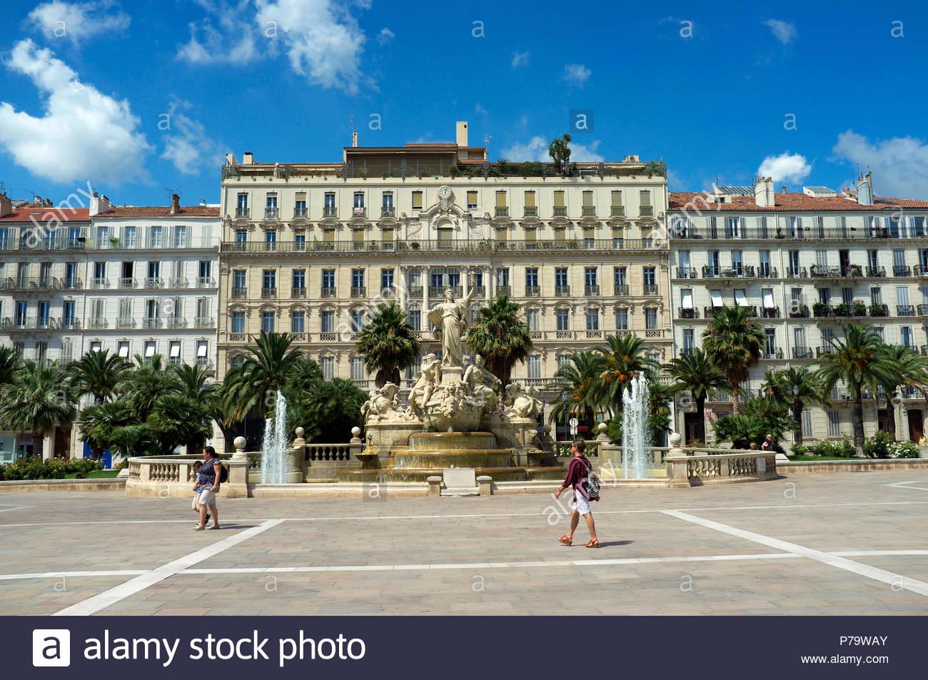 Grand Hotel De La Gare In Toulon In The Var Department