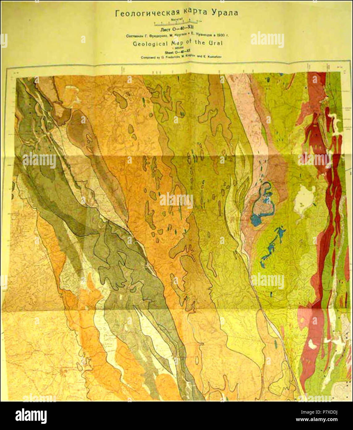 Geological Map Stock Photos Amp Geological Map Stock Images