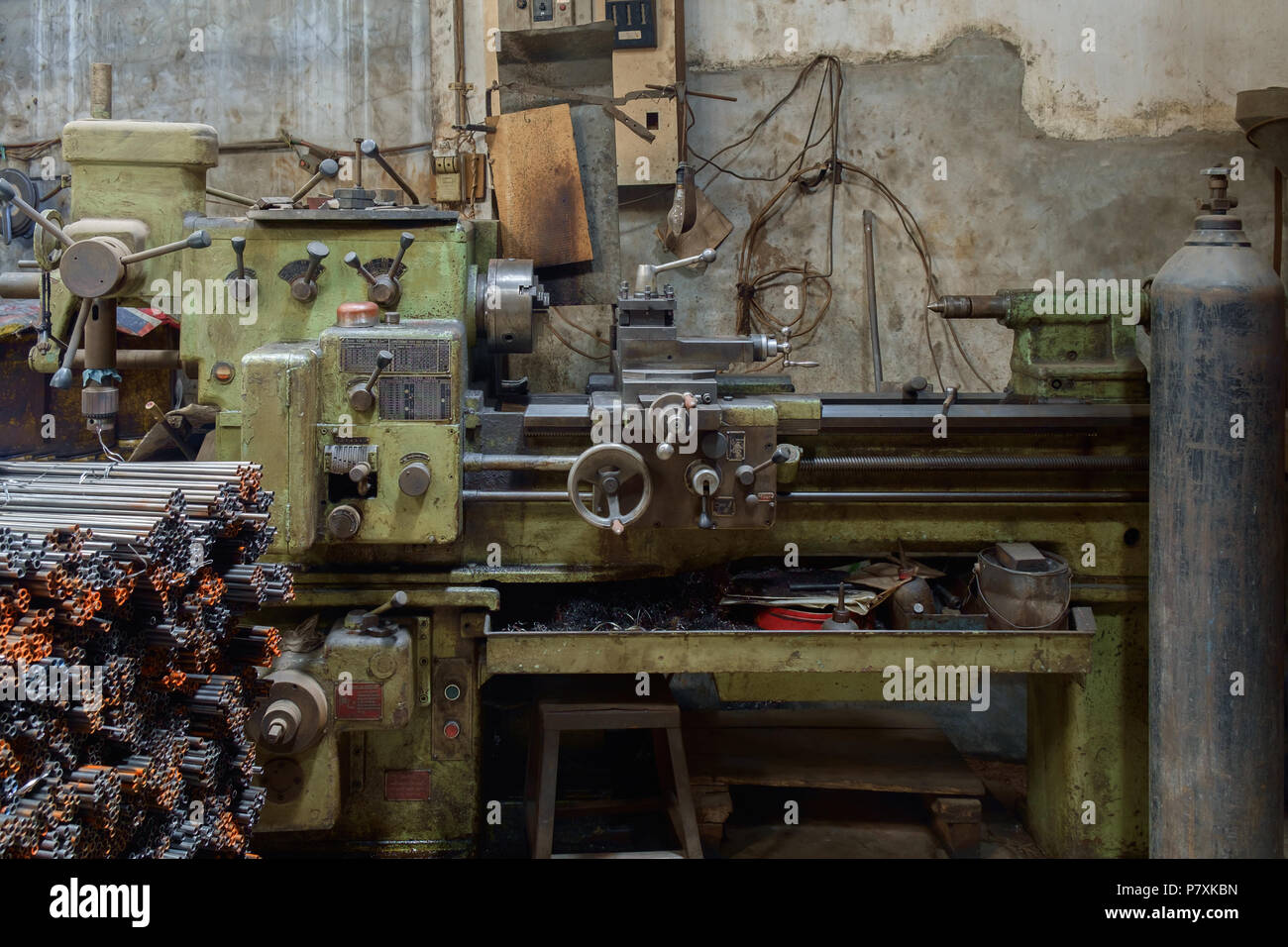 Lathe Machine Stock Photos  Lathe Machine Stock Images  Alamy