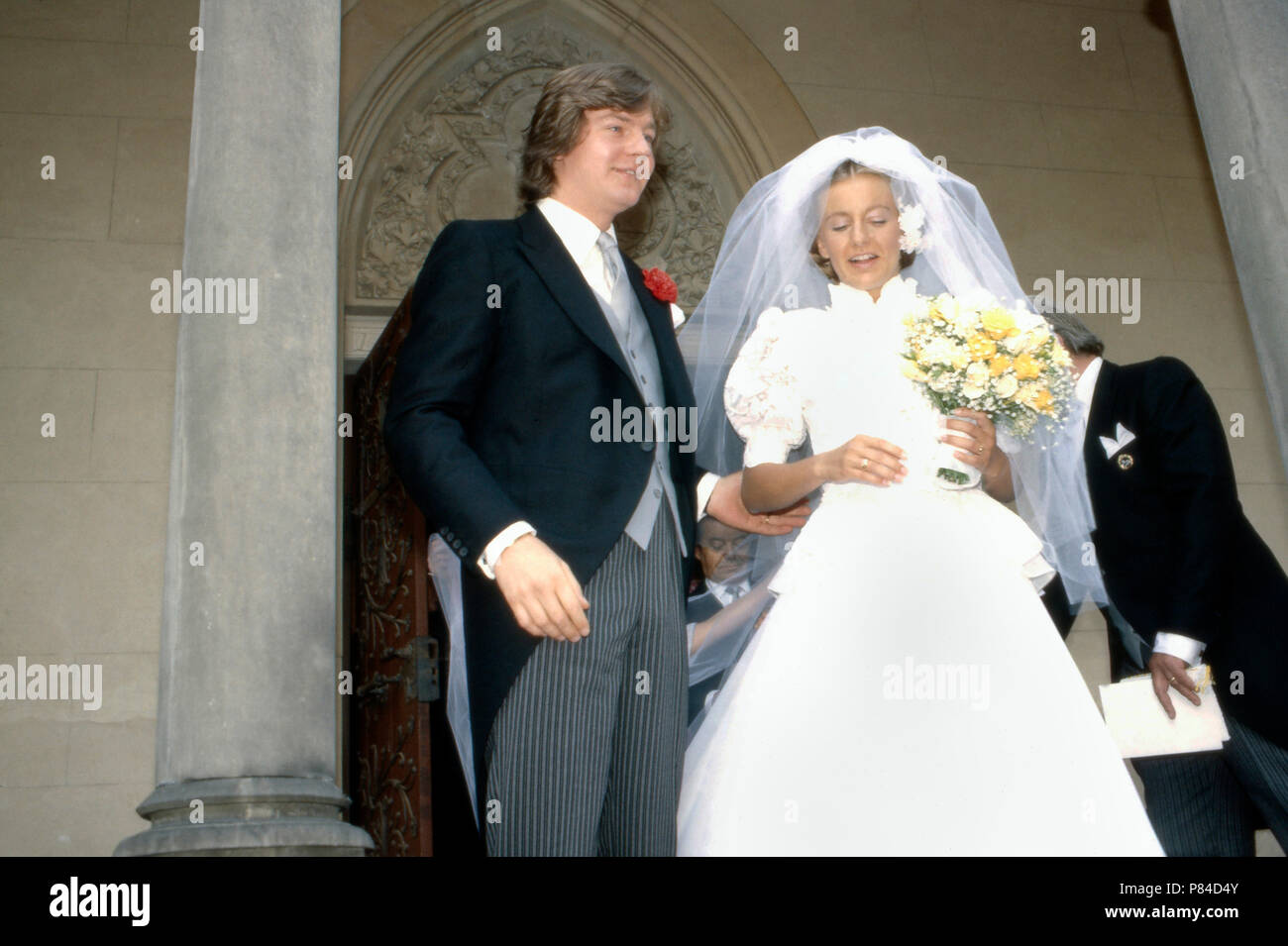 Erbprinz Ernst August von Hannover bei seiner Hochzeit mit