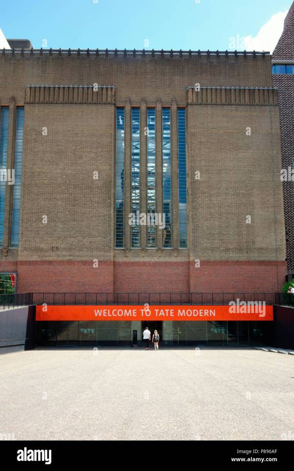 Tate Modern Museum Stock & - Alamy