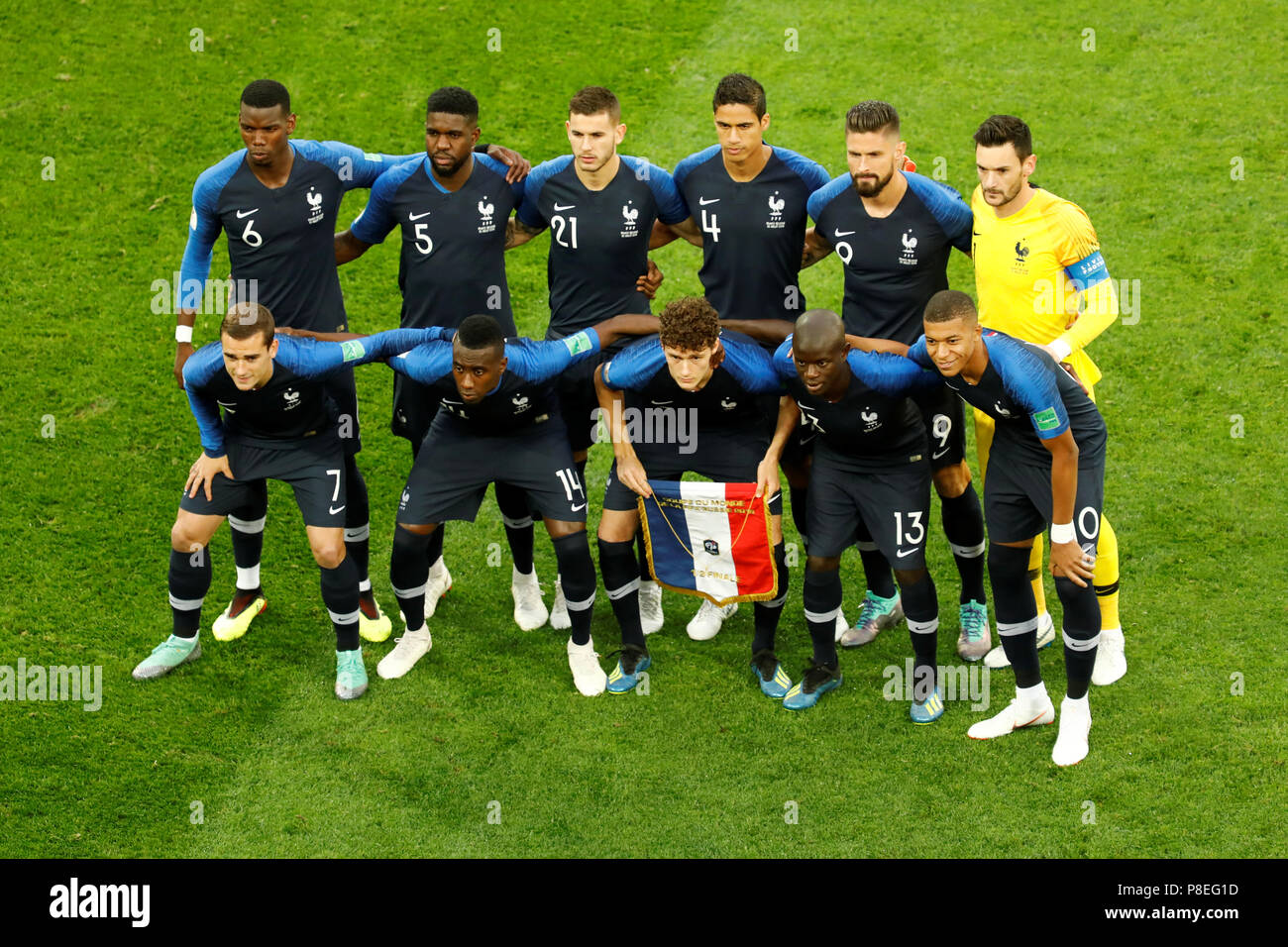The french team is the reigning world champions. Saint Petersburg Russia July 10 France National Team Players Pose For A Photo During The 2018 Fifa World Cup Russia Semi Final Match Between France And Belgium At Saint Petersburg Stadium