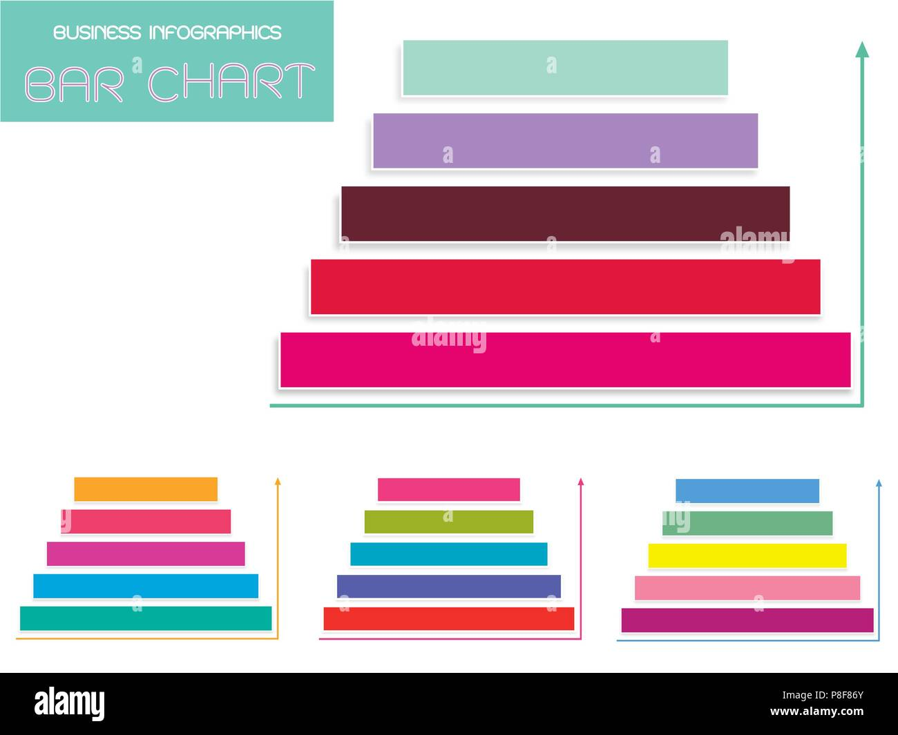 hight resolution of business and marketing concepts vector set of colorful steps of pyramid diagram infographics background or template diagram with copy space for add c