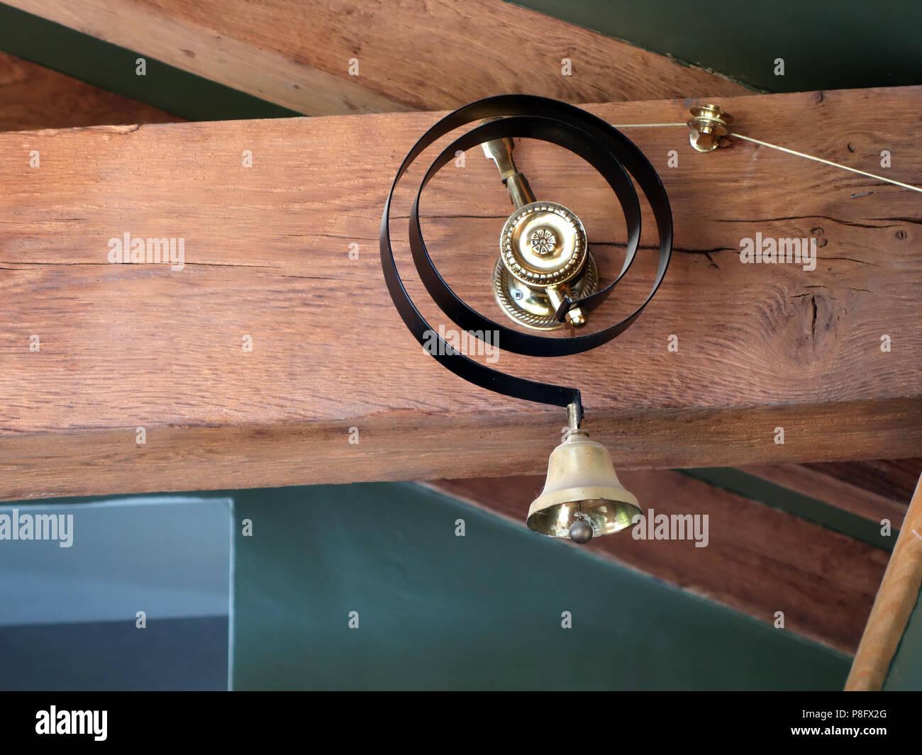 Brass Door Bell Stock Photos Amp Brass Door Bell Stock