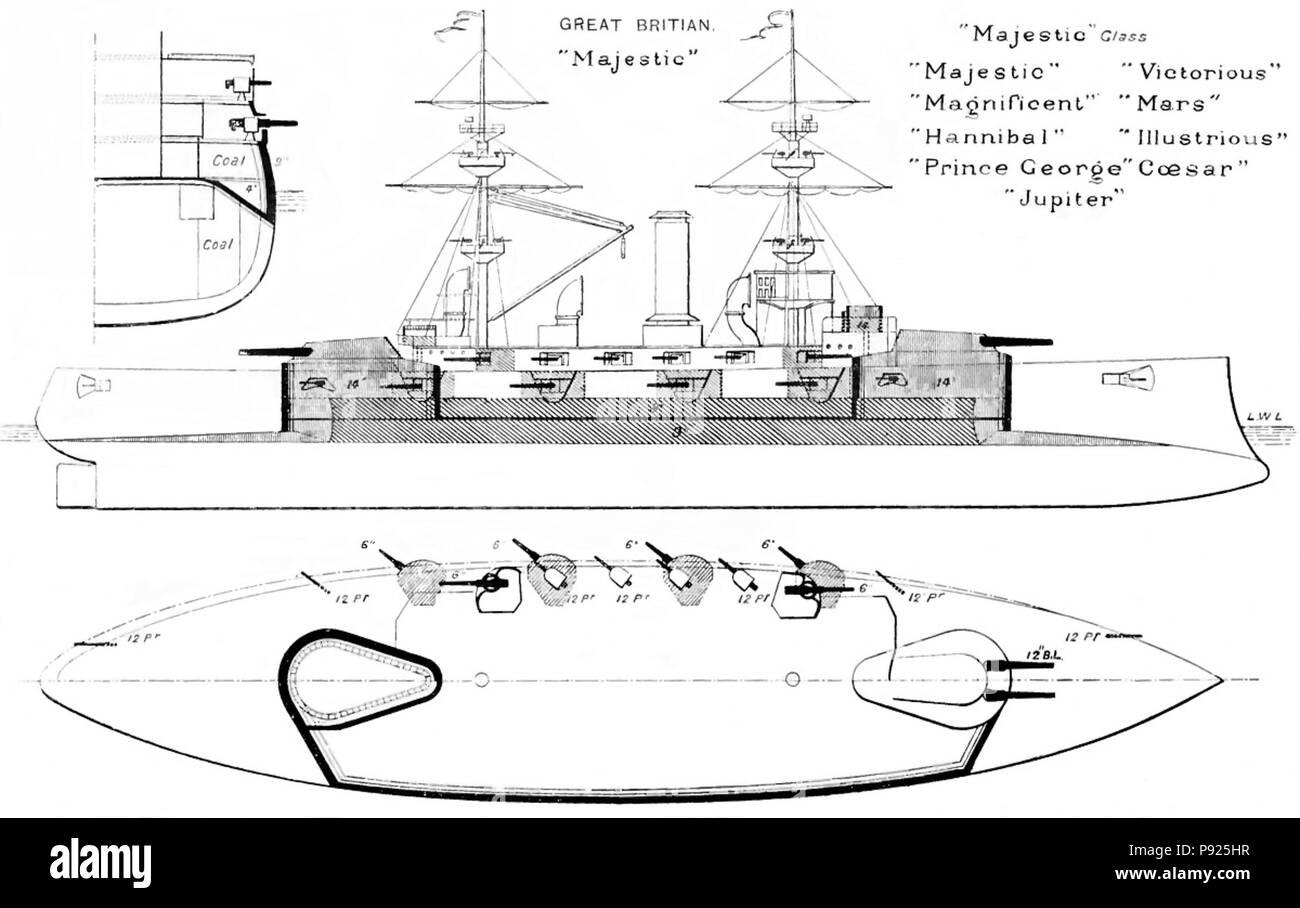 hight resolution of 408 majestic class diagrams brasseys 1902