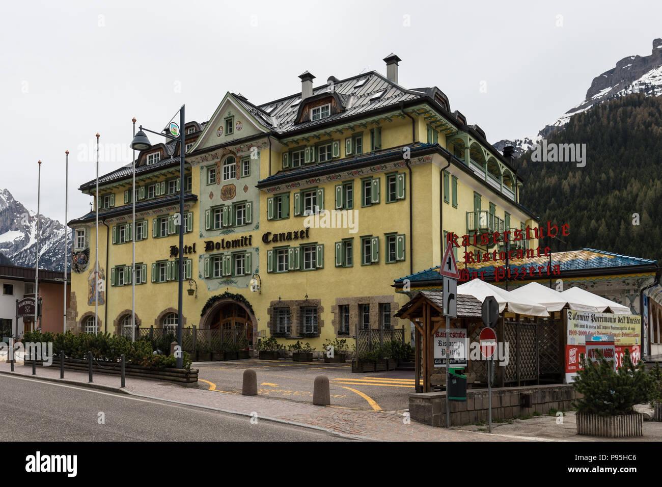 Hotel Dolomiti In Canazei Trentino Alto Adige Italy
