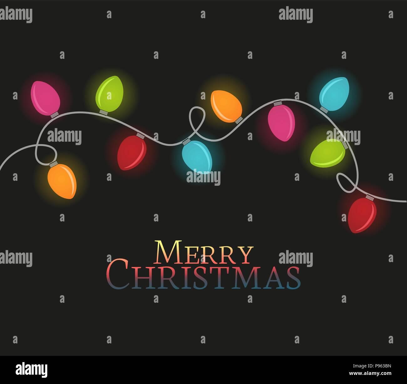 vector illustration christmas colorful