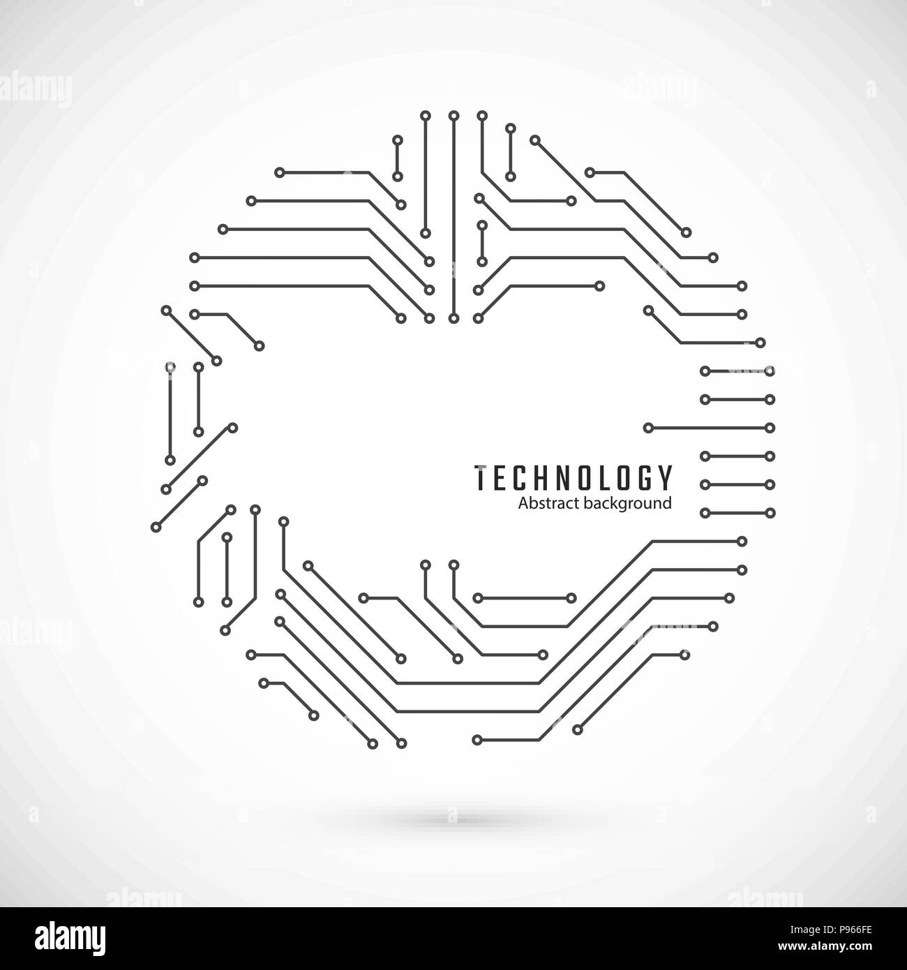 hight resolution of print of circuit circuit board texture vector illustration stock