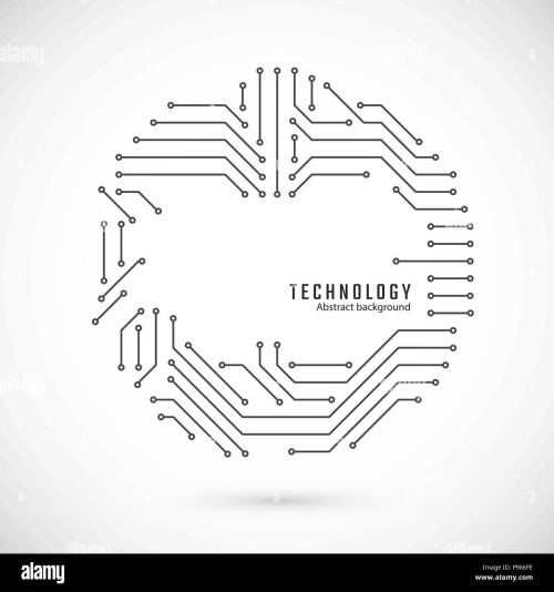 small resolution of print of circuit circuit board texture vector illustration stock