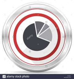 diagram silver metallic chrome border round web icon on white background [ 1300 x 1390 Pixel ]