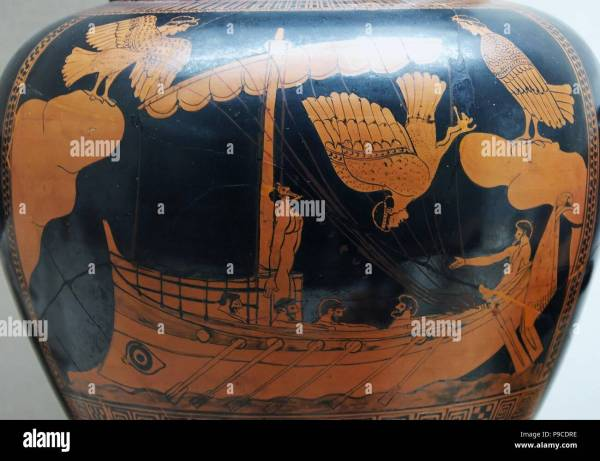 Odysseus Ulysses Greek King Ithaca Stock &