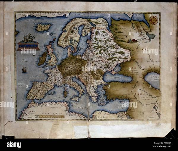 Europe Map 16th Century Gosupsneek Imgurl