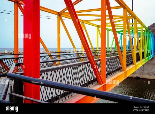 Truss Bridge Stock & - Alamy