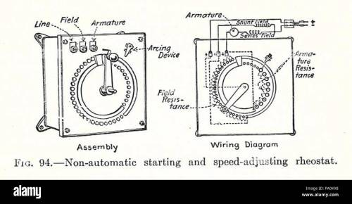 small resolution of 613 electrical machinery 1917 starting rheostat stock image