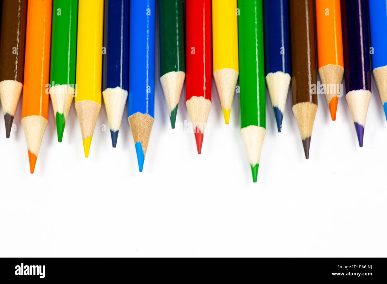 Coloring Pencils Stock Photos Amp Coloring Pencils Stock