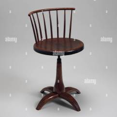 Revolving Chair Used Klismos Design Culture American Shaker Dimensions 28 X 16 3 4 15 In 71 1 42 5 38 Cm Date 1840 70 Chairs Also Known As Stools Or Swivel