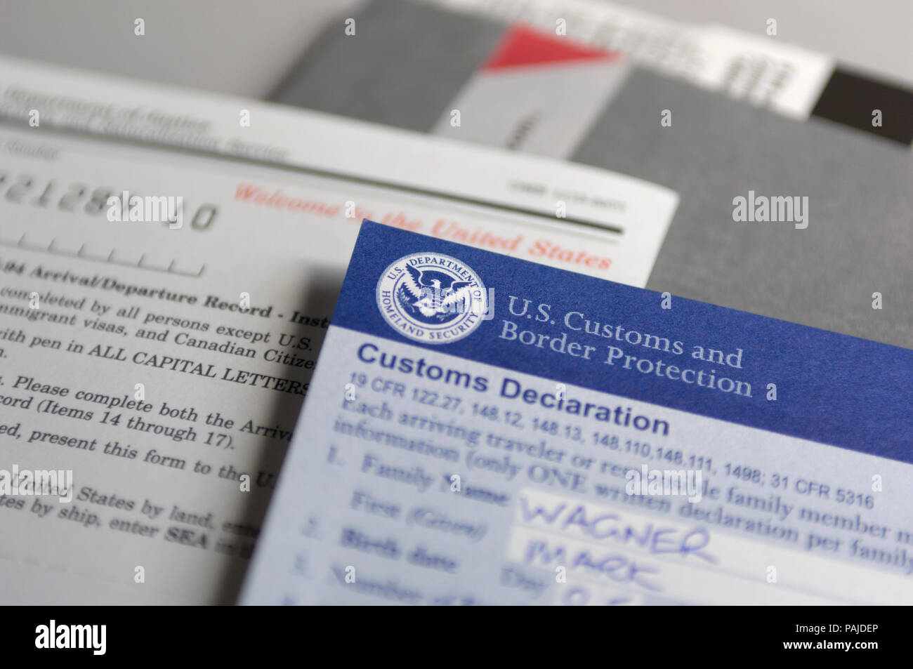 Cbp Marine Interdiction Agent Cover Letter Us Customs And Border Protection Stock Photos Us Customs And