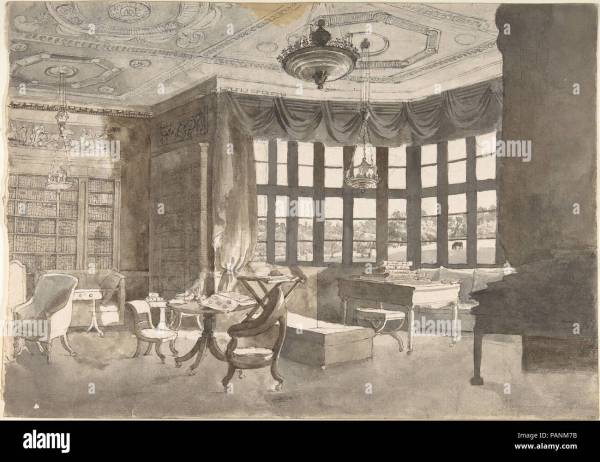 Early 19th Century Home Interiors