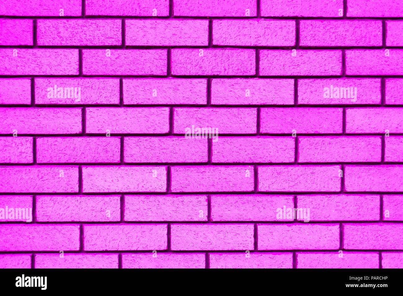 pink brick wall background