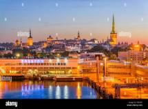 Tallinn Estonia Tourism Stock &