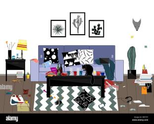 Student Room Clutter High Resolution Stock Photography and Images Alamy