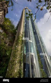 Glass Elevator Stock &