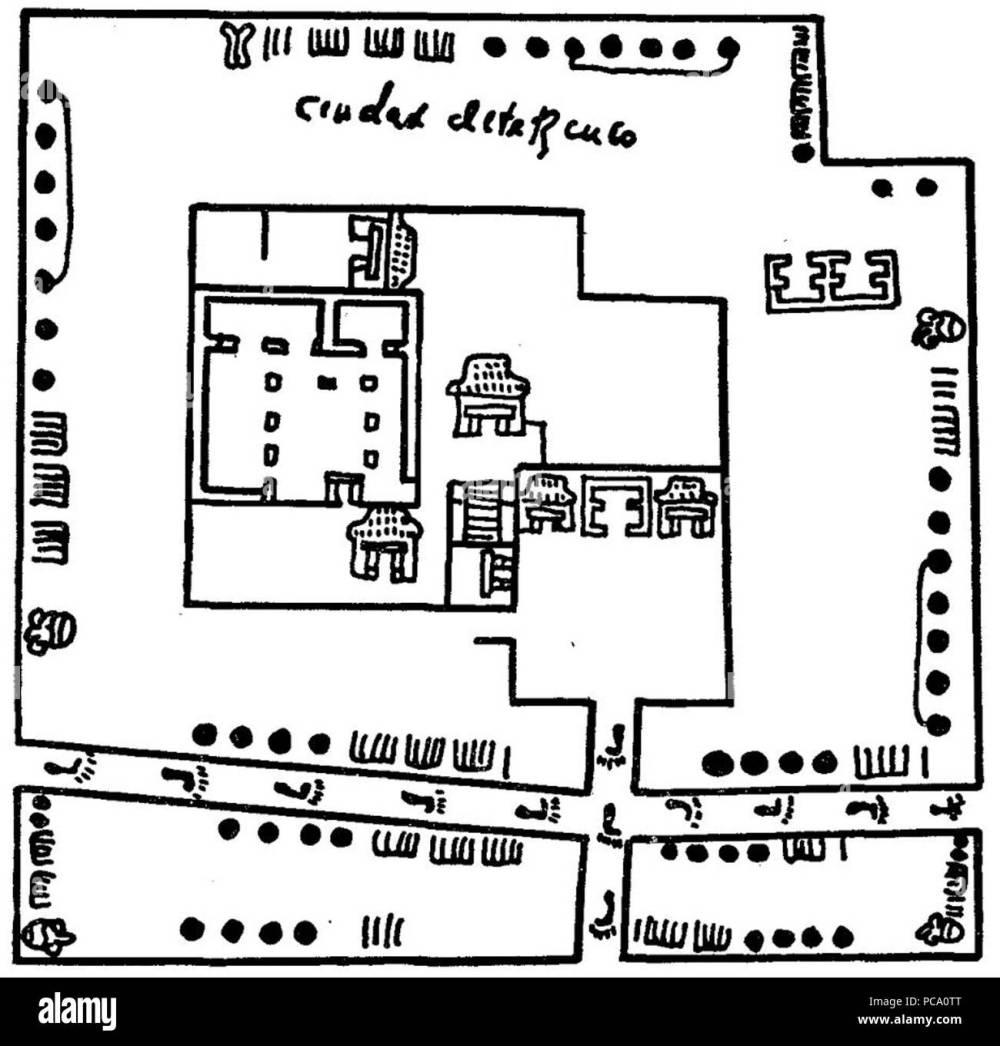medium resolution of 591 texcoco aztec metric system codex humboldt black and white detail fragment vi