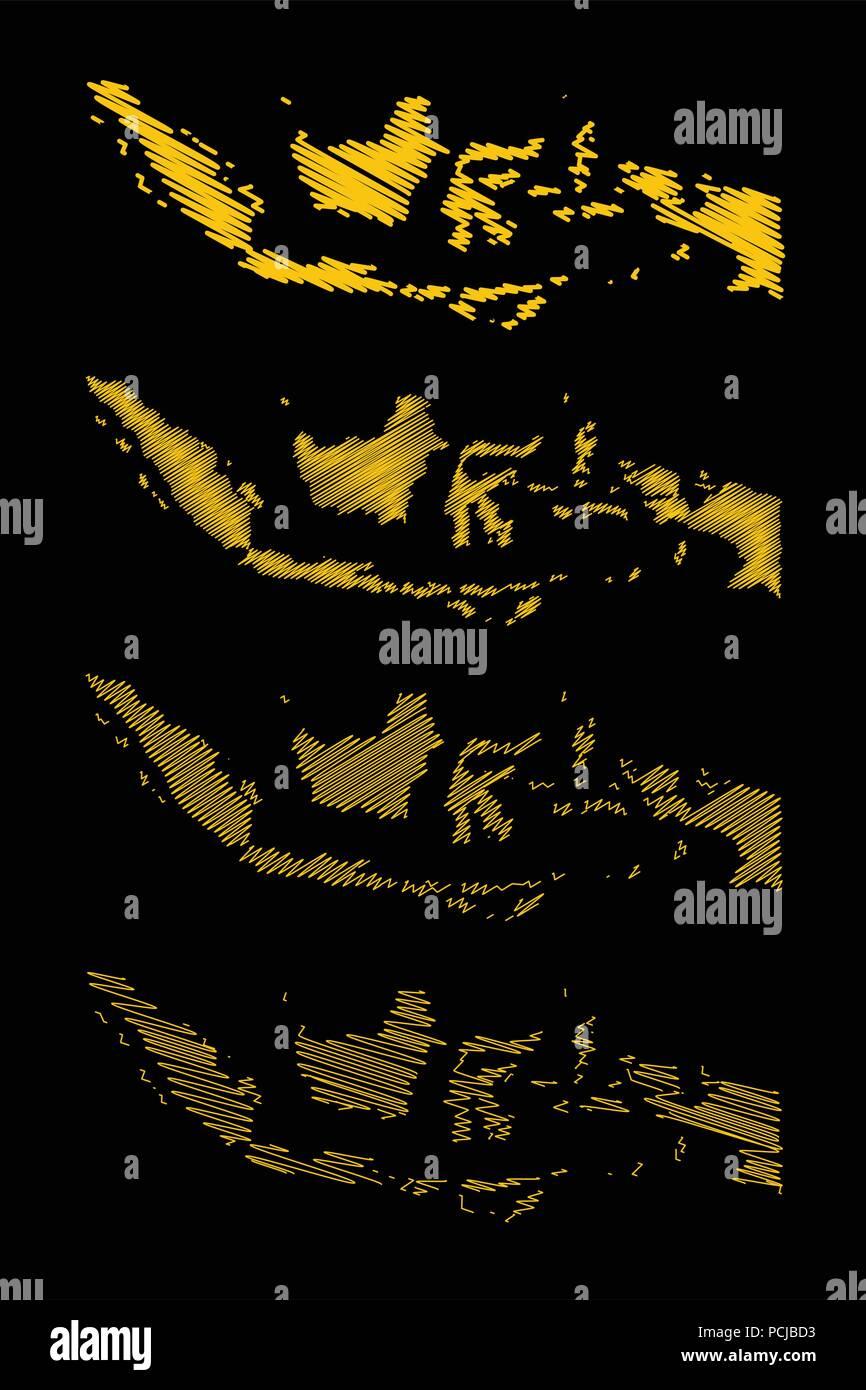 Peta Jawa Vector : vector, Indonesia, Resolution, Stock, Photography, Images, Alamy