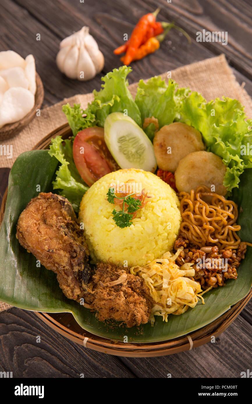 Nasi Kuning Bandung : kuning, bandung, Kuning, Resolution, Stock, Photography, Images, Alamy