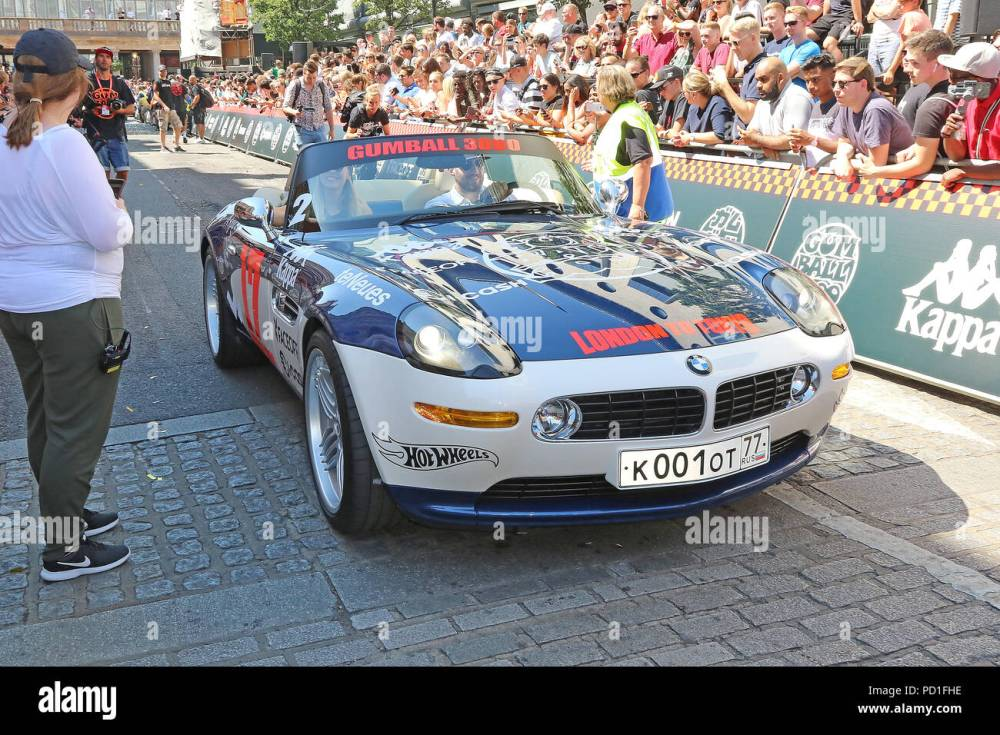 medium resolution of bmw z8 gumball 3000 launch and