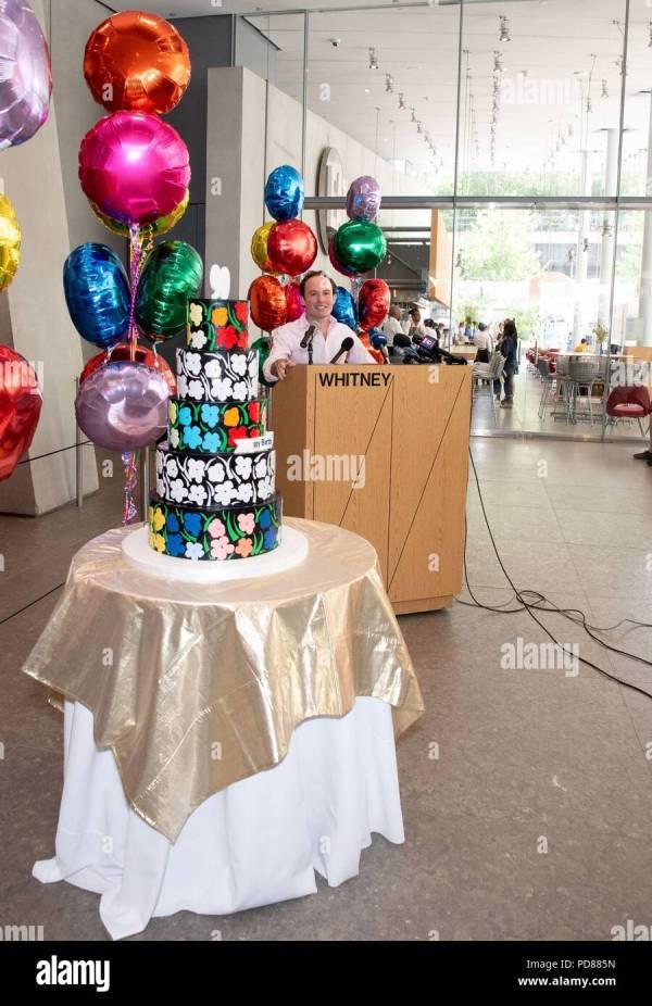 Red Carpet Birthday Cake Stock & - Alamy