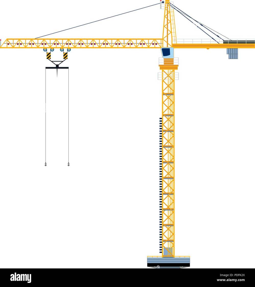 medium resolution of template with construction tower crane jigsaw banner concept vector illustration