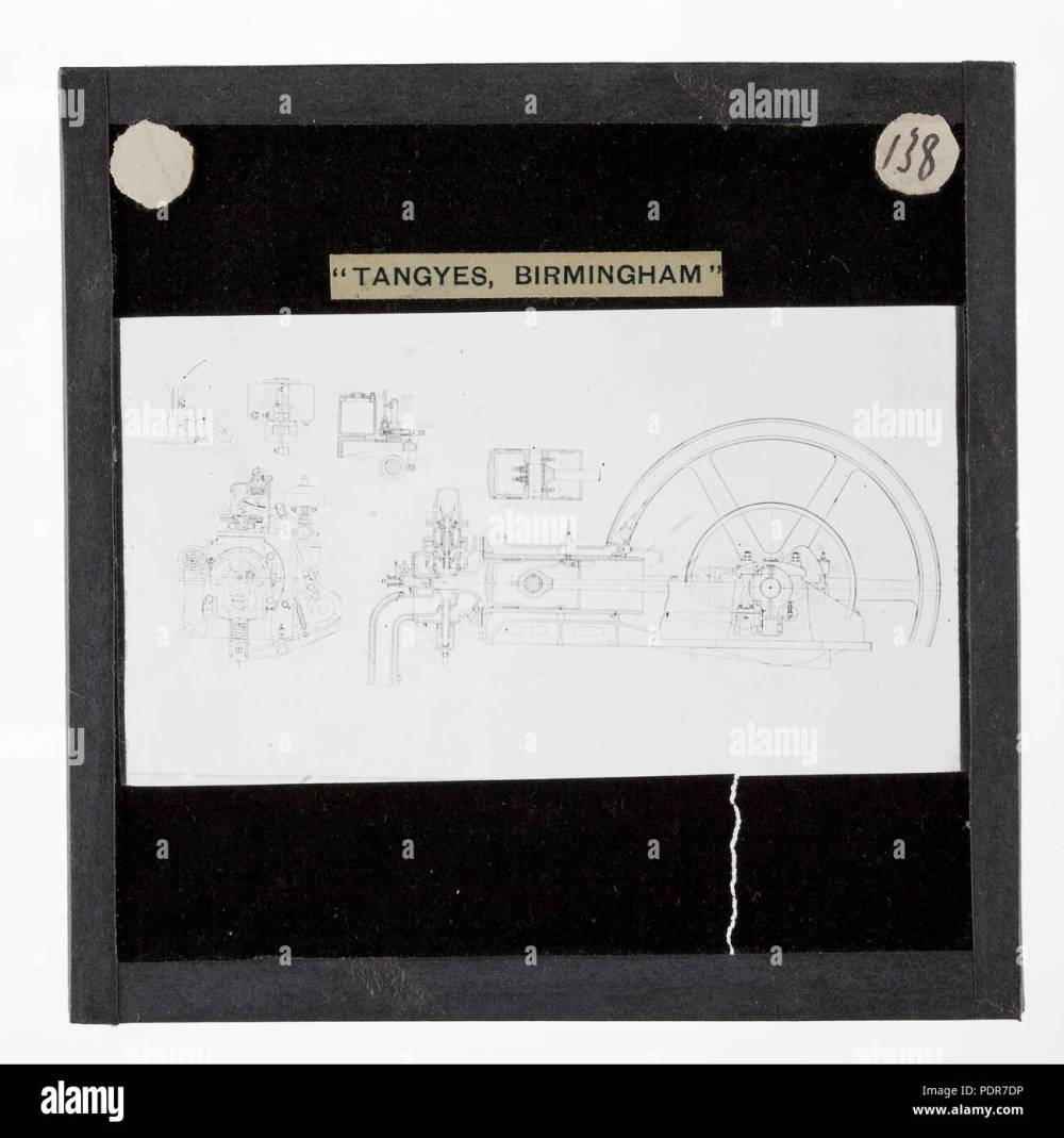 medium resolution of 77 lantern slide tangyes ltd gas engine diagram circa 1910