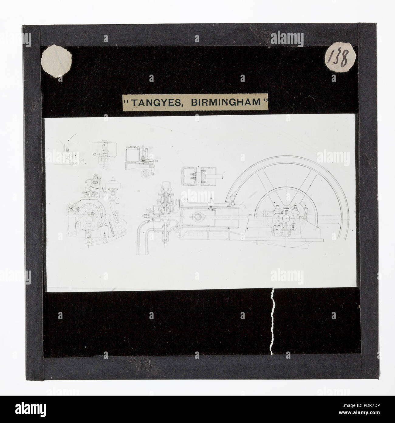 hight resolution of 77 lantern slide tangyes ltd gas engine diagram circa 1910
