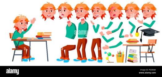 animated homework cartoon animation invitation teacher face boy student presentation child vector graduation gestures illustration schoolboy emotions creation isolated alamy