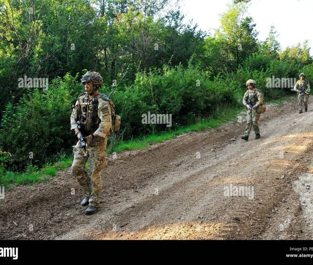British Soldiers Conduct Training During At Immediate Response  2015 Near Postonja Slovenia Ir 15 Is A Multinational Brigade Level Exercise