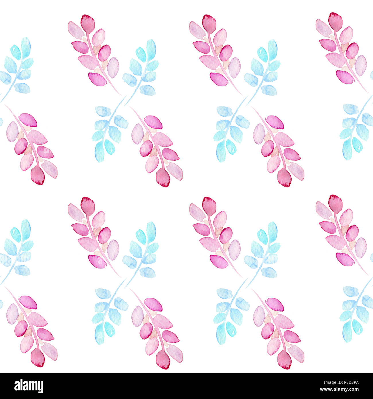 abstract watercolor flowers stock