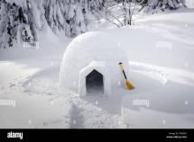 Real Snow Igloo