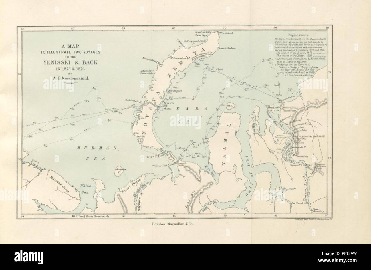 hight resolution of image from page 469 of the arctic voyages of a e nordenski ld 1858 1879 with illustrations and maps
