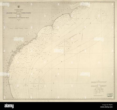 small resolution of atlantic coast of the united states in four sheets sheet no iii