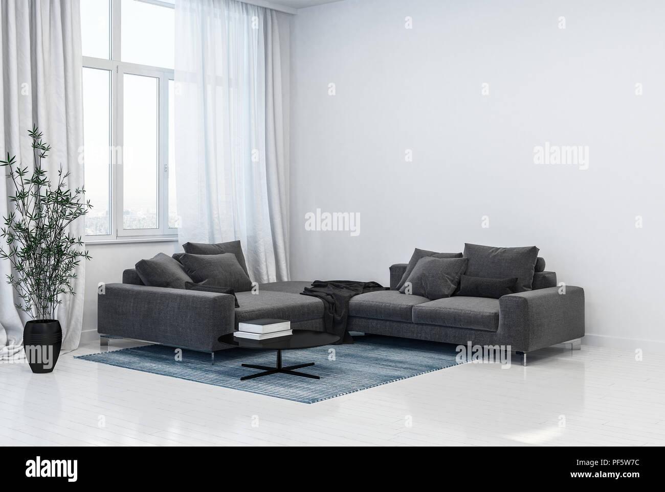 monochromatic grey and white