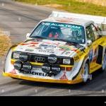 1985 Audi Sport Quattro S1 E2 Group B Rally Car With Driver David Kedward At The 2018 Goodwood Festival Of Speed Sussex Uk Stock Photo Alamy