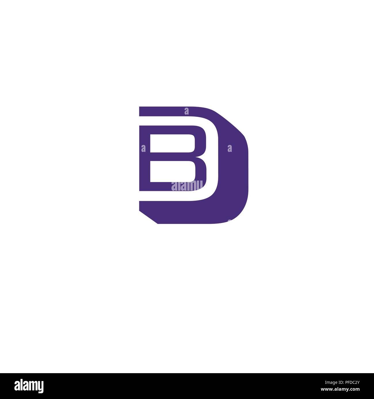 bd letter logo design