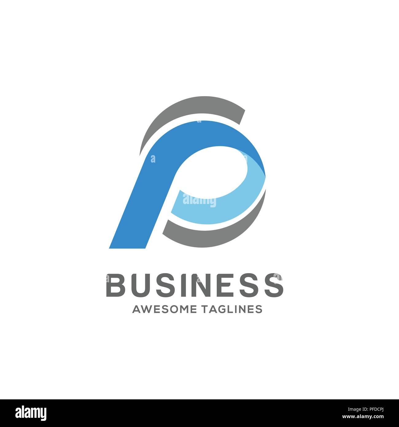 sp letter logo design