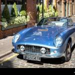Vintage Ferrari Convertible Car Stock Photo Alamy